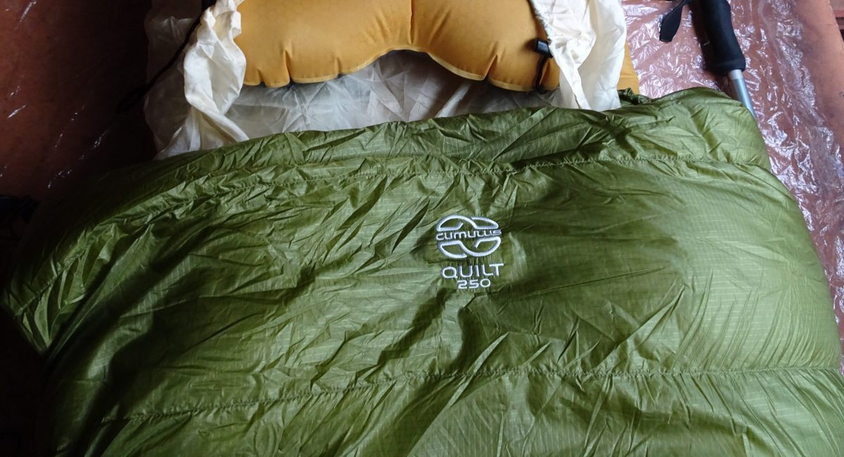 Cumulus Quilt 250 (long) – Gear Review